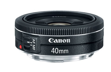 Canon T4i STM 40mm Lens